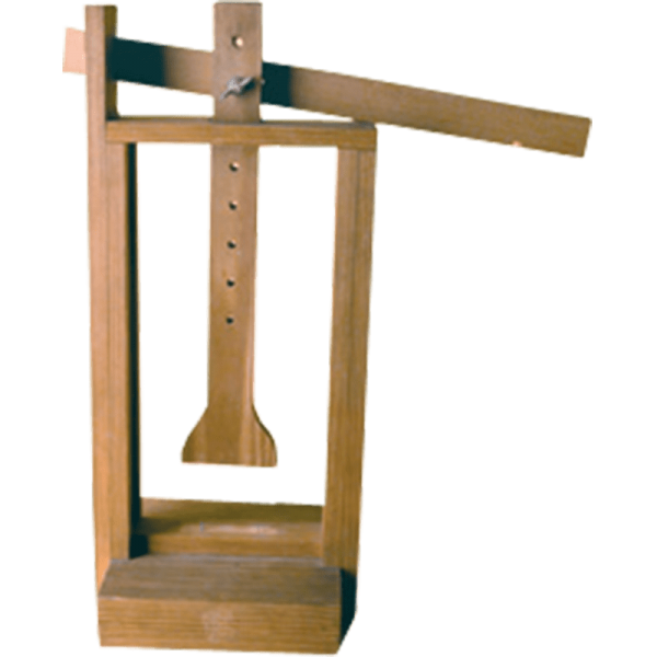 KÄSE - PRESSE aus Holz für Käseform bis 16 cm DM