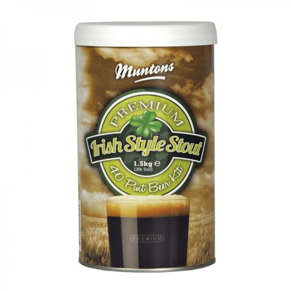 Heimbrauset Muntons Irish Style Stout 1,5 kg