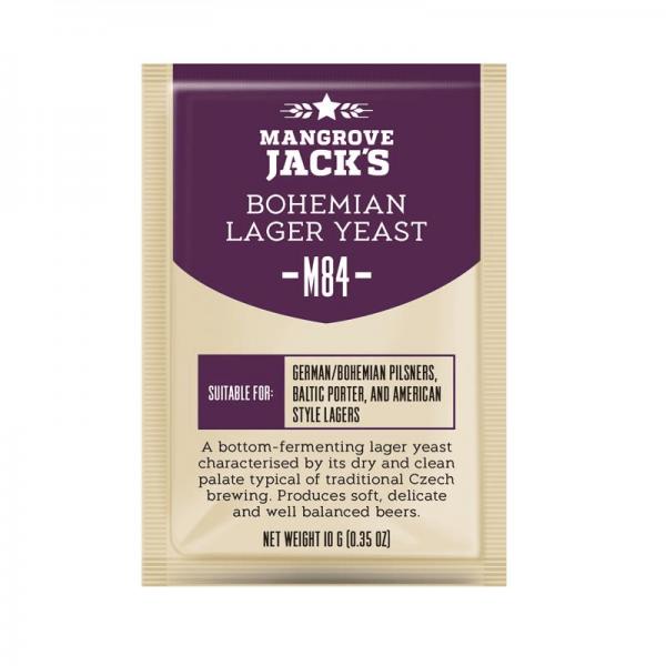 BIERHEFE MANGROVE JACK'S CRAFT,Bohemian Lager, 10g