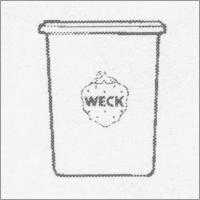 Weck Einkochglas Sturzform 160 ml, 12 Stk. Pgk 760