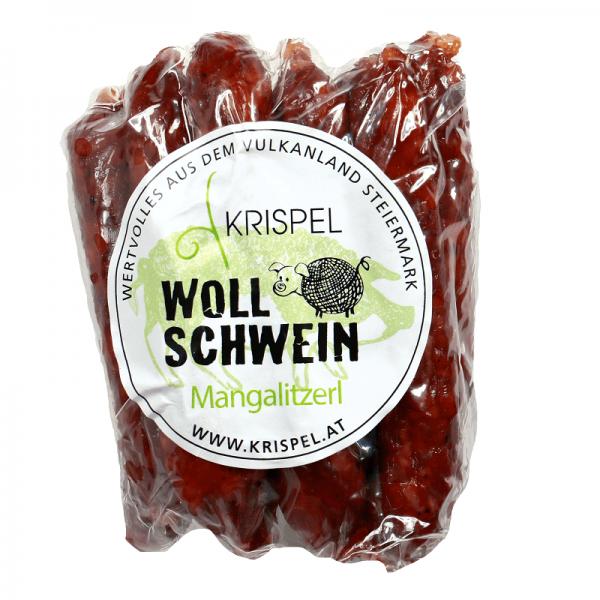 Krispel Wollschwein Mangalitzerl, 100g