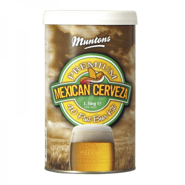 HOME BREWING KIT MUNTONS Mexican Cerveza 1,5 kg