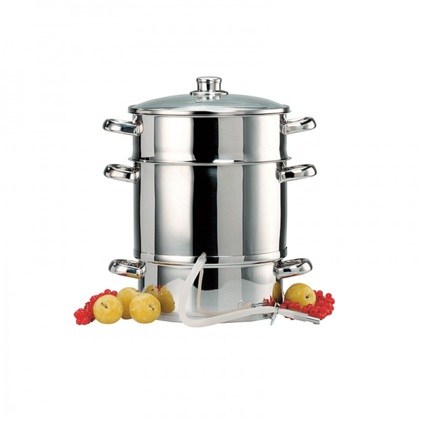 Steam Juicer Stainless Steel, 10 l