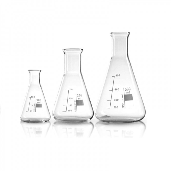 Erlenmeyer/Conical Flask for Staring the Yeast