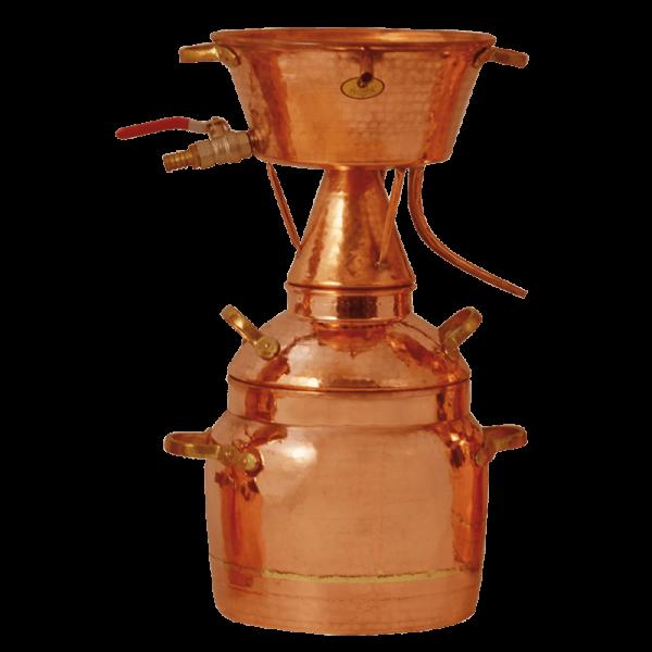 Destiller nach Leonardo da Vinci für ätherische Öle 50 l