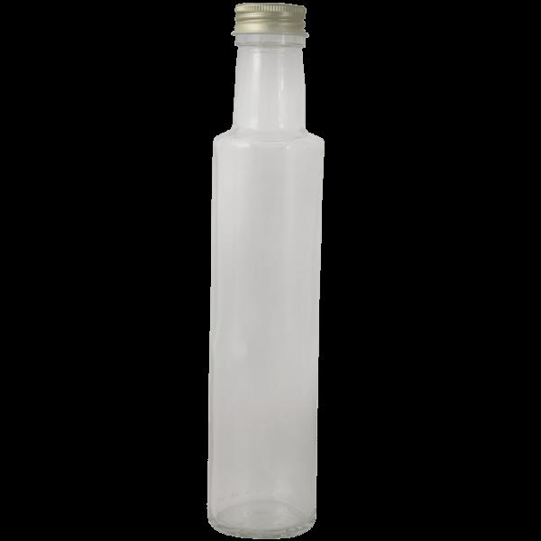 "Flasche ""SILHOUETTE-DORICA"", weiß, 0,25 l"