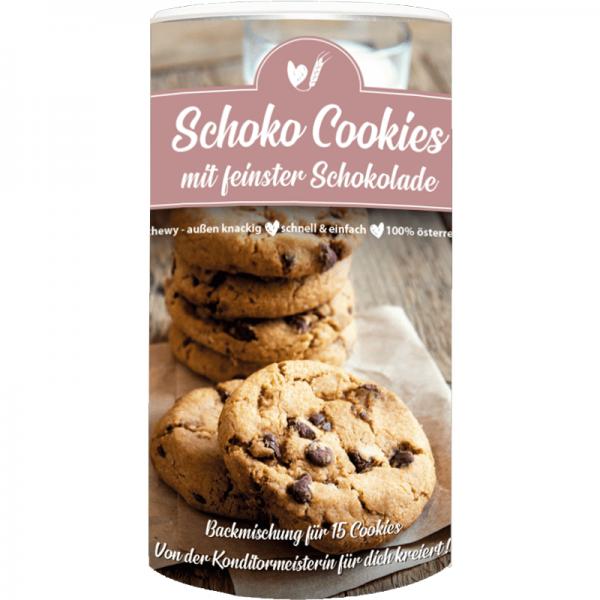 Backmischung Schoko Cookies, für 15 Cookies
