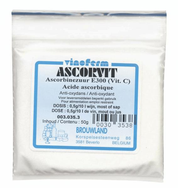 Ascorbic Acid Vinoferm Ascorvit 100 G