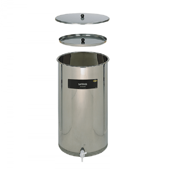 JUICE BARREL Saftquell, stainless steel, 170 lt
